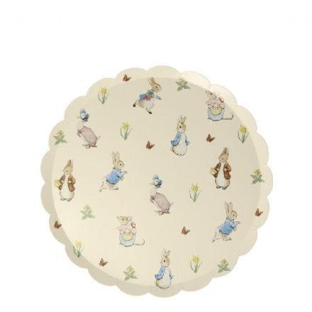 Peter Rabbit & Friends Party Plates - Small